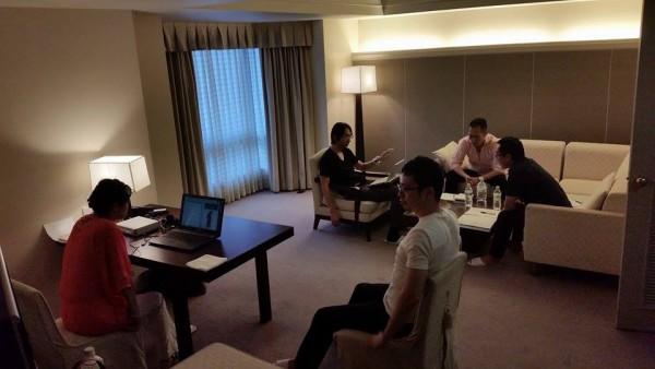 波動アップ合宿 in 琵琶湖の様子