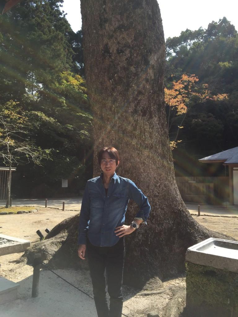 福岡県にある「とある神社」での1枚
