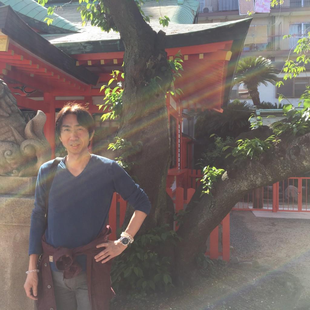 兵庫県にある「とある神社」での1枚
