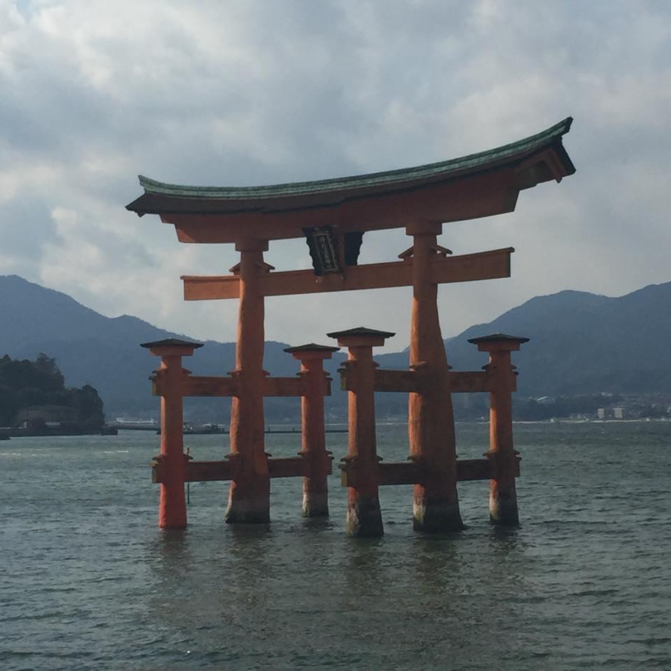 宮島・厳島神社の鳥居