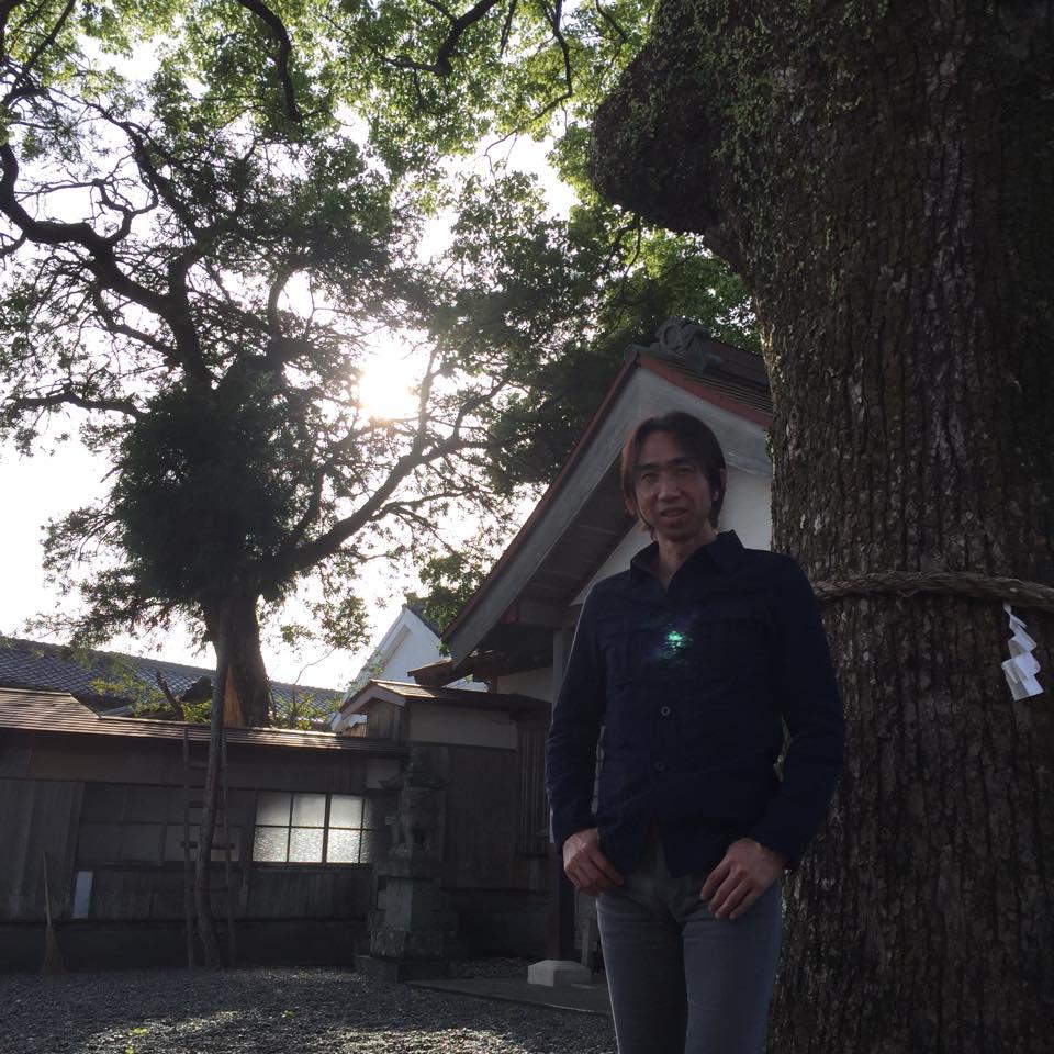 """三重県熊野にある""""とある神社""""での1枚"""