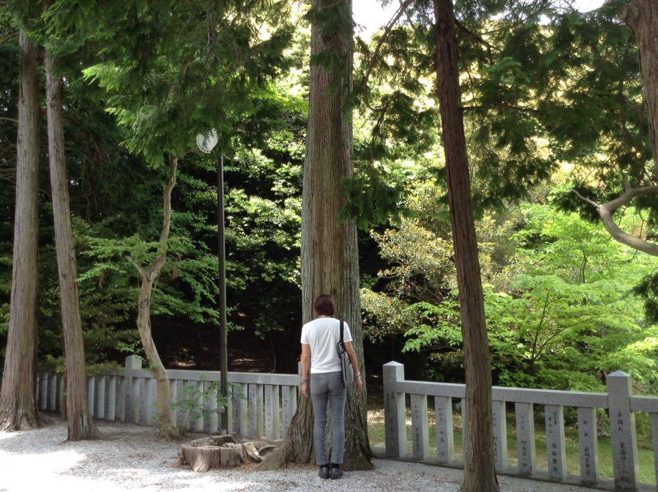 静岡県にある某神社にて