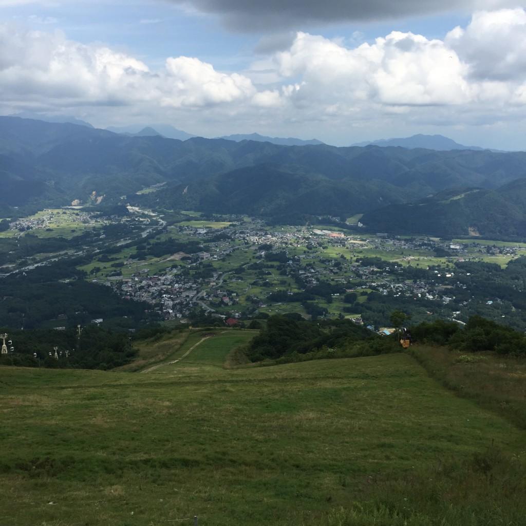 長野県白馬・八方尾根スキー場