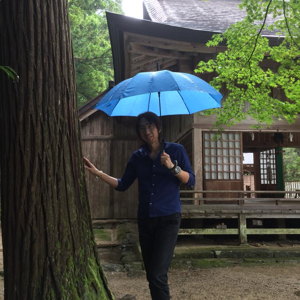 出雲「須佐神社」での1枚