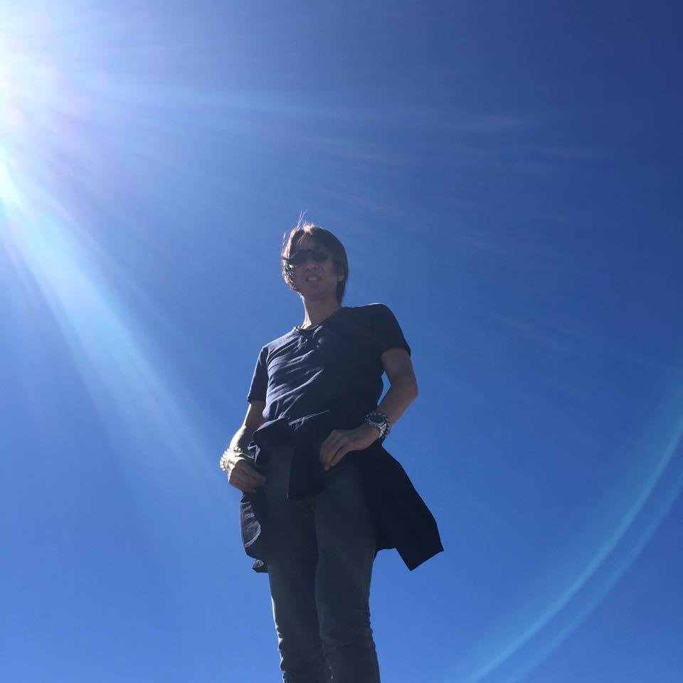 カナダ・ウィスラー山頂