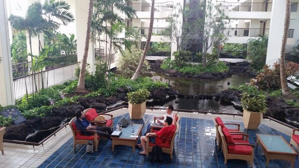 波動アップコンサルセッション@マウナ ラニ ベイ ホテル&バンガローズ