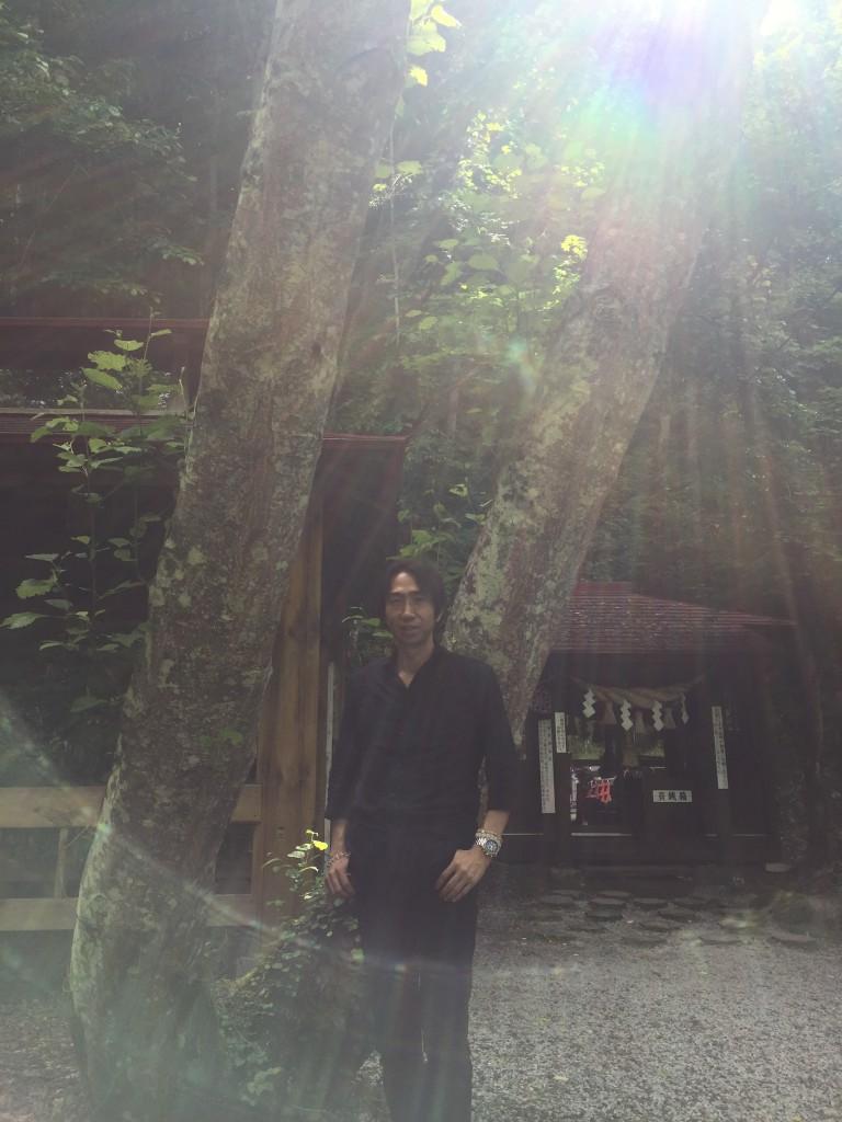 北海道の神様へご挨拶に行った時の1枚
