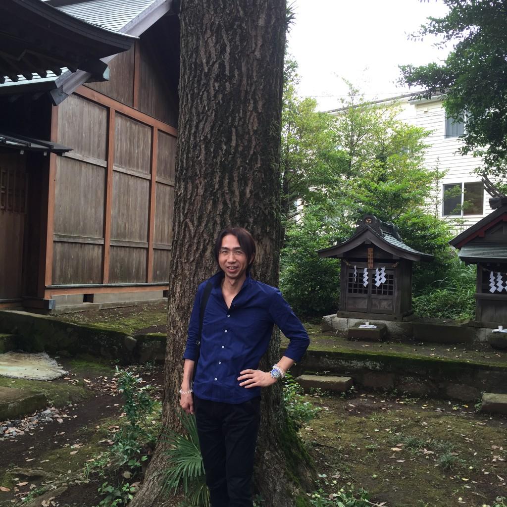 """神奈川県にある""""とある神社""""を訪問"""