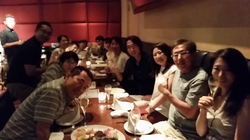 波動アップマスター塾・第1期・3回目セミナー懇親会
