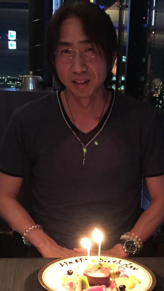 波動アップコンサルタント・三宅巧一47歳の誕生日