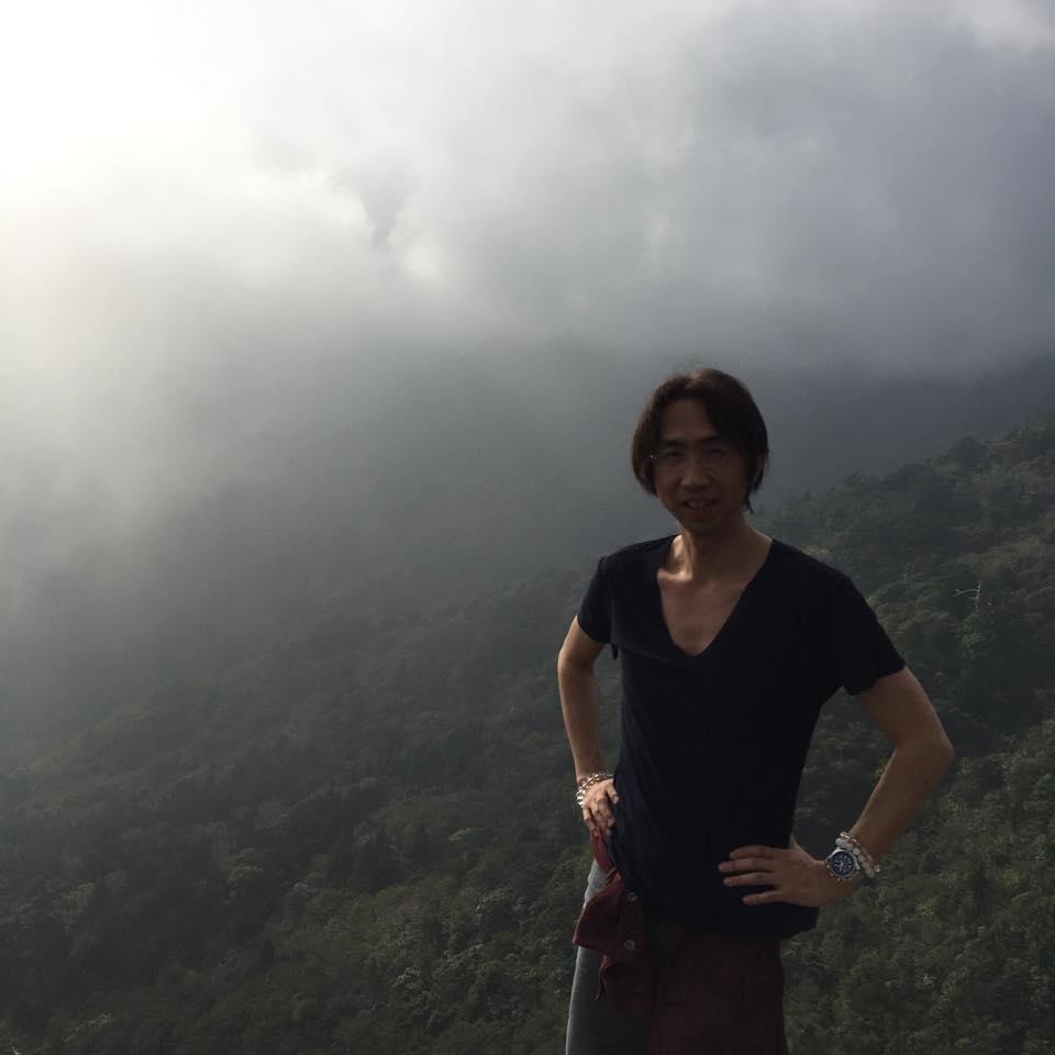 白谷雲水峡「太鼓岩」での1枚