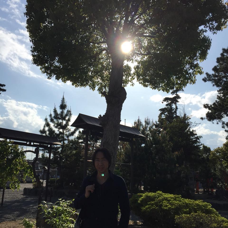三重県にある「とある神社」での1枚