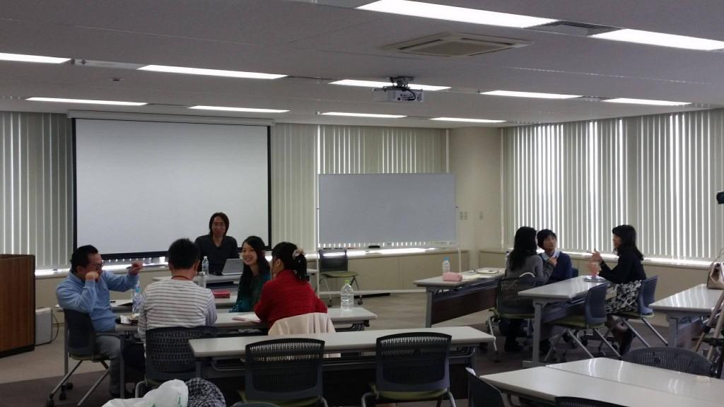 波動アップマスター塾・講義風景